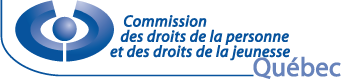 Logo de la Commission des droits de la personne et des droits de la jeunesse